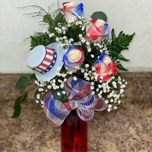 Red White & Bloom